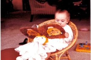 babyKarinreading