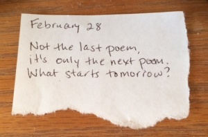 Poem by Karin Fisher-Golton, 2/28/2014